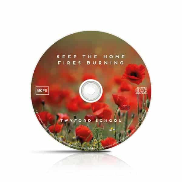 Twyford CD disk design