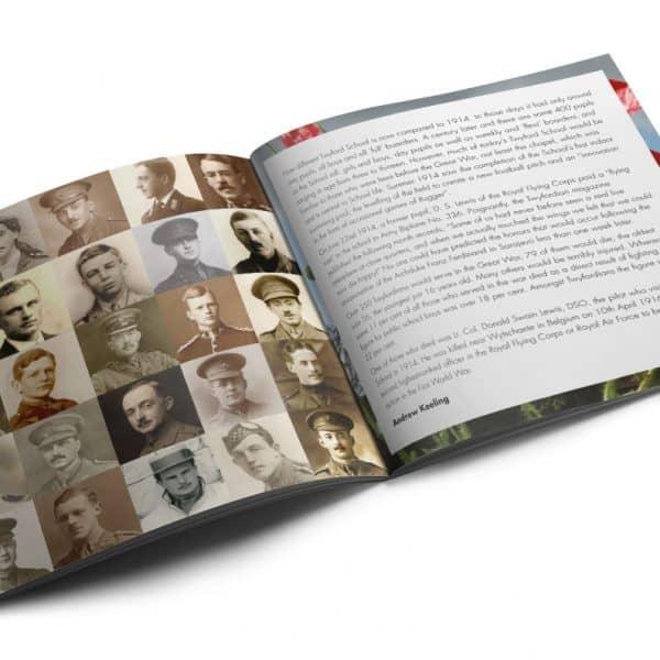 Twyford School album booklet design