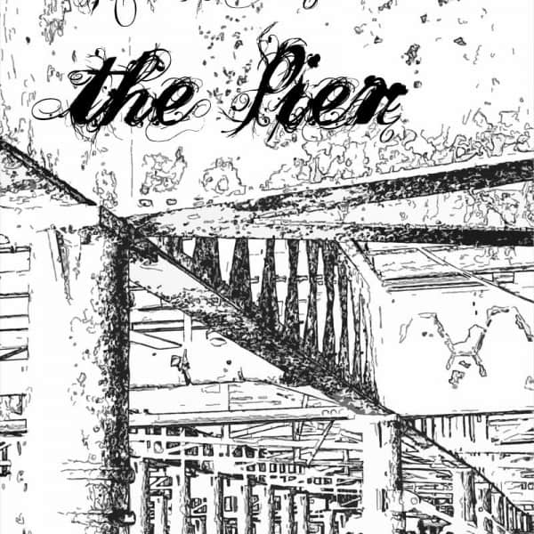 Under the Pier graphic design print