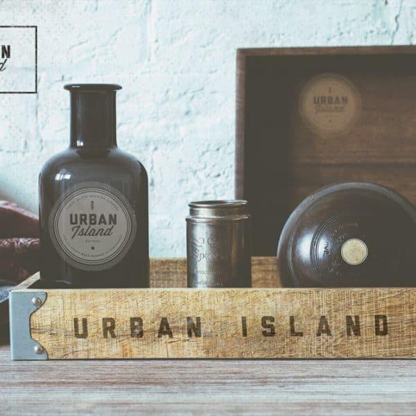 Urban Island Craft Beer Portsmouth branding