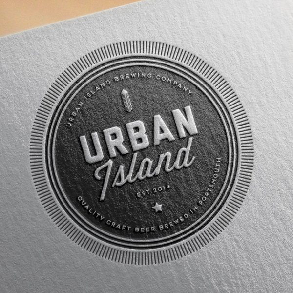 Urban Island Craft Beer Portsmouth branding
