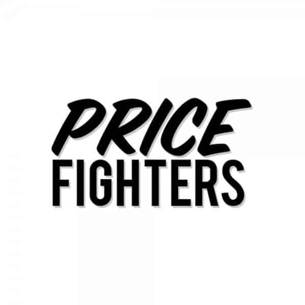 Pricefighters logo design, graphic design, branding