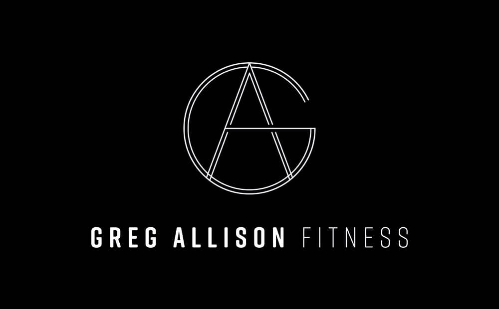 Greg Allison Fitness, logo design, visual identity, branding
